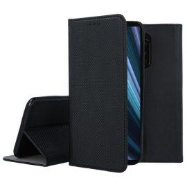 """Juodos spalvos atverčiamas dėklas Sony Xperia 1 / XZ4 """"Smart Magnet"""""""
