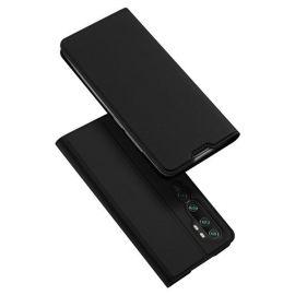 """Juodos spalvos atverčiamas dėklas Xiaomi Mi Note 10 / 10 Pro """"Dux Ducis Skin Pro"""""""