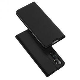 """Juodos spalvos atverčiamas dėklas Xiaomi Mi Note 10 Lite """"Dux Ducis Skin Pro"""""""