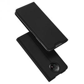 """Juodos spalvos atverčiamas dėklas Xiaomi Redmi Note 9T / Note 5G """"Dux Ducis Skin Pro"""""""