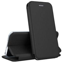 """Juodos spalvos atverčiams dėklas Samsung Galaxy A510 A5 2016 """"Book Elegance"""""""