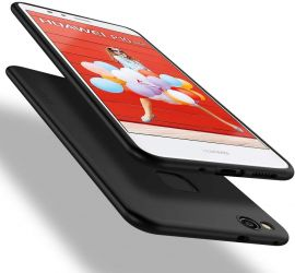 """Juodos spalvos dėklas Huawei P10 Lite """"X-level Guardian"""""""