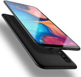 "Juodos spalvos dėklas Samsung Galaxy A202 A20e ""X-level Guardian"""