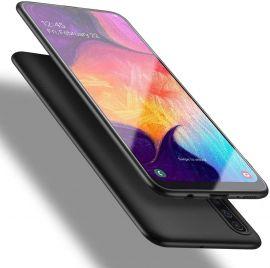"Juodos spalvos dėklas Samsung Galaxy A505 A50 / A507 A50s / A307 A30s ""X-level Guardian"""