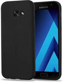 "Juodos spalvos dėklas Samsung Galaxy A520 A5 2017 ""X-level Guardian"""