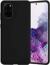 """Juodos spalvos dėklas Samsung Galaxy G986 S20 Plus """"Mercury Silicone"""""""
