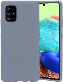 "Levandos pilkos spalvos dėklas Samsung Galaxy A715 A71 ""Mercury Silicone"""