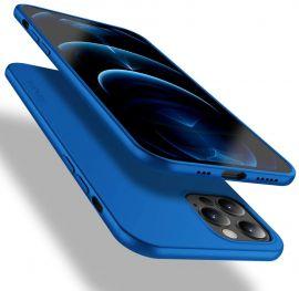 "Mėlynos spalvos dėklas Apple iPhone 12 Pro Max ""X-level Guardian"""