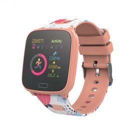 Oranžinis išmanusis laikrodis Forever IGO JW-100