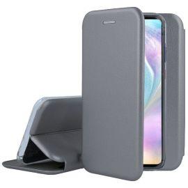 """Pilkas atverčiamas dėklas Samsung Galaxy A035 A03s """"Book Elegance"""""""