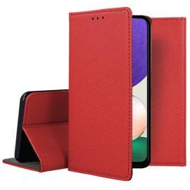 """Raudonas atverčiamas dėklas Samsung Galaxy A226 A22 5G """"Smart Magnet"""""""