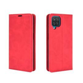 """Raudonas atverčiamas dėklas Samsung Galaxy A426 A42 """"Business Style"""""""