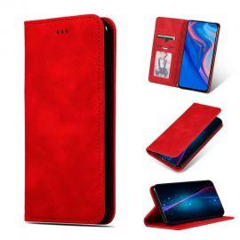 """Raudonas atverčiamas dėklas Samsung Galaxy N975 Note 10 Plus """"Business Style"""""""