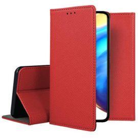 """Raudonas atverčiamas dėklas Xiaomi Mi 10T 5G / Mi 10T Pro 5G """"Smart Magnet"""""""