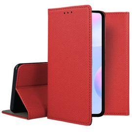 """Raudonas atverčiamas dėklas Xiaomi Redmi 9A """"Smart Magnet"""""""