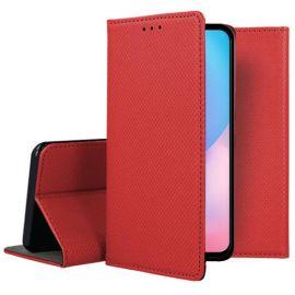 """Raudonas atverčiamas dėklas Xiaomi Redmi 9T / Poco M3 """"Smart Magnet"""""""
