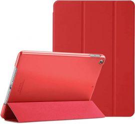 """Raudonas dėklas Apple iPad 10.2 2019 """"Smart Leather"""""""