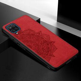 """Raudonas dėklas Samsung Galaxy A426 A42 """"Mandala"""""""