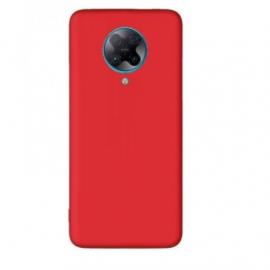 "Raudonas silikoninis dėklas Xiaomi Poco F2 Pro / Redmi K30 Pro / K30 Pro Zoom ""Liquid Silicone"" 1.5mm"