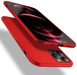 """Raudonas spalvos dėklas Apple iPhone 12 Pro Max """"X-level Guardian"""""""