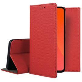 """Raudonos spalvos atverčiamas dėklas Huawei P Smart Pro 2019 / Honor Y9s """"Smart Magnet"""""""