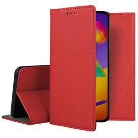 """Raudonos spalvos atverčiamas dėklas Samsung Galaxy M317 M31s """"Smart Magnet"""""""