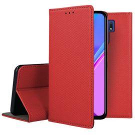 """Raudonos spalvos atverčiamas dėklas Xiaomi Redmi 9 """"Smart Magnet"""""""