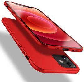 """Raudonos spalvos dėklas Apple iPhone 12 mini """"X-level Guardian"""""""