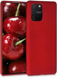 """Raudonos spalvos dėklas Samsung Galaxy S10 Lite / A91 """"X-level Dynamic"""""""