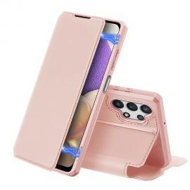 """Rožinis atverčiamas dėklas Samsung Galaxy A326 A32 5G """"Dux Ducis Skin X"""""""