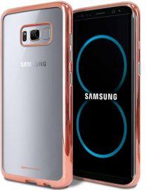"""Rožinis-auksinės dėklas Samsung Galaxy G950 S8 """"Mercury Ring 2"""""""