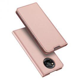 """Rožinis-auksinis atverčiamas dėklas Xiaomi Poco X3 NFC / Poco X3 Pro """"Dux Ducis Skin Pro"""""""