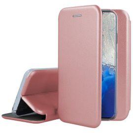 """Rožinis-auskinis atverčiamas dėklas Samsung Galaxy G981 S20 """"Book Elegance"""""""