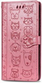 "Rožinis dėklas Samsung Galaxy A217 A21s ""Cat-Dog"""