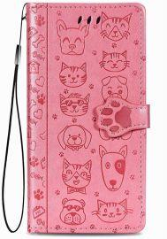 """Rožinis dėklas Xiaomi Redmi 9C """"Cat-Dog"""""""
