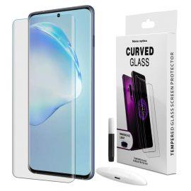 """Skaidrus apsauginis stikliukas Samsung Galaxy G988 S20 Ultra """"Nano Optics 5D UV Glue"""""""