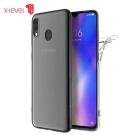 "Skaidrus dėklas Samsung Galaxy A405 A40 ""X-level Antislip"""