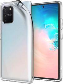 "Skaidrus dėklas Samsung Galaxy S10 Lite / A91 ""X-level Antislip"""