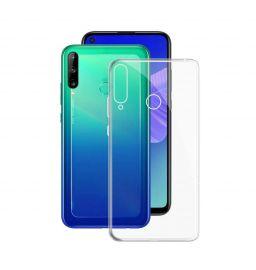 """Skaidrus silikoninis dėklas Huawei P40 Lite E / Y7 P """"High Clear"""" 0.5mm"""
