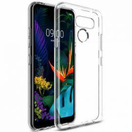 """Skaidrus silikoninis dėklas LG K40S """"High Clear"""" 1.0mm"""