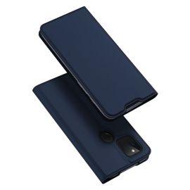 """Tamsiai mėlynas atverčiamas dėklas Google Pixel 4a 5G """"Dux Ducis Skin Pro"""""""