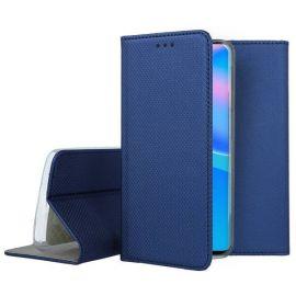 """Tamsiai mėlynas atverčiamas dėklas Huawei P Smart 2021 """"Smart Magnet"""""""