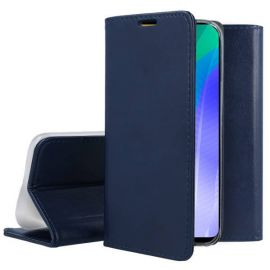 """Tamsiai mėlynas atverčiamas dėklas Huawei Y6P """"Smart Magnetic"""""""
