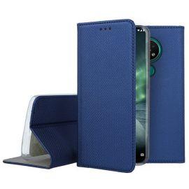 """Tamsiai mėlynas atverčiamas dėklas Nokia 6.2 / 7.2 """"Smart Magnet"""""""