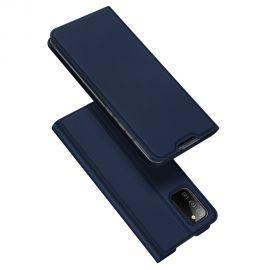 """Tamsiai mėlynas atverčiamas dėklas Samsung Galaxy A025 A02s """"Dux Ducis Skin Pro"""""""