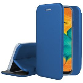 "Tamsiai mėlynas atverčiamas dėklas Samsung Galaxy A035 A03s ""Book Elegance"""