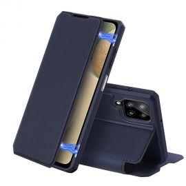 """Tamsiai mėlynas atverčiamas dėklas Samsung Galaxy A125 A12 """"Dux Ducis Skin X"""""""
