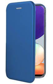 "Tamsiai mėlynas atverčiamas dėklas Samsung Galaxy A225 A22 4G ""Book Elegance"""