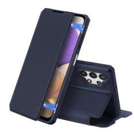 """Tamsiai mėlynas atverčiamas dėklas Samsung Galaxy A326 A32 5G """"Dux Ducis Skin X"""""""