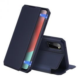 """Tamsiai mėlynas atverčiamas dėklas Samsung Galaxy A41 A415 """"Dux Ducis Skin X"""""""